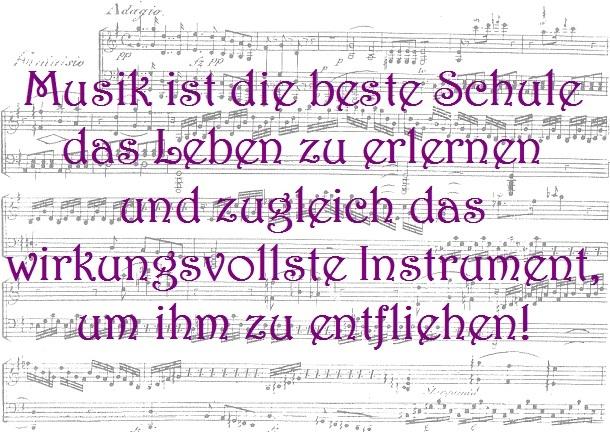 Musik ist die beste Schule…